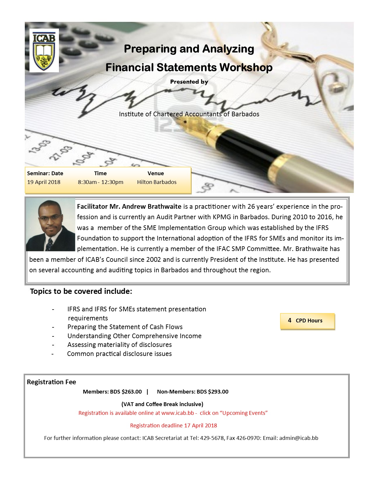 PREPARING AND ANALYZING FINANCIAL STATEMENTS